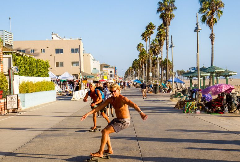 Venice Beach - EVS Cleaning in LA County