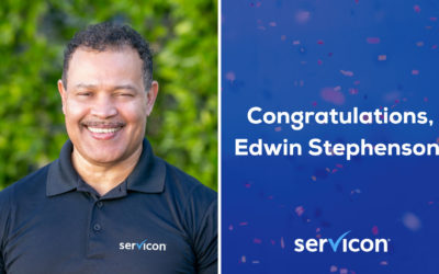 Edwin Stephenson – 36 Years with Servicon