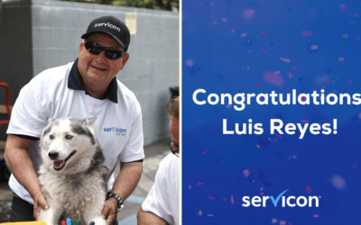 Luis Reyes – 30 Years with Servicon