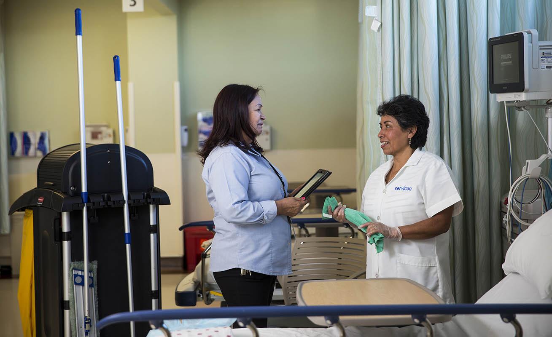 Smart Facility Makes EVS for Hospitals Smarter